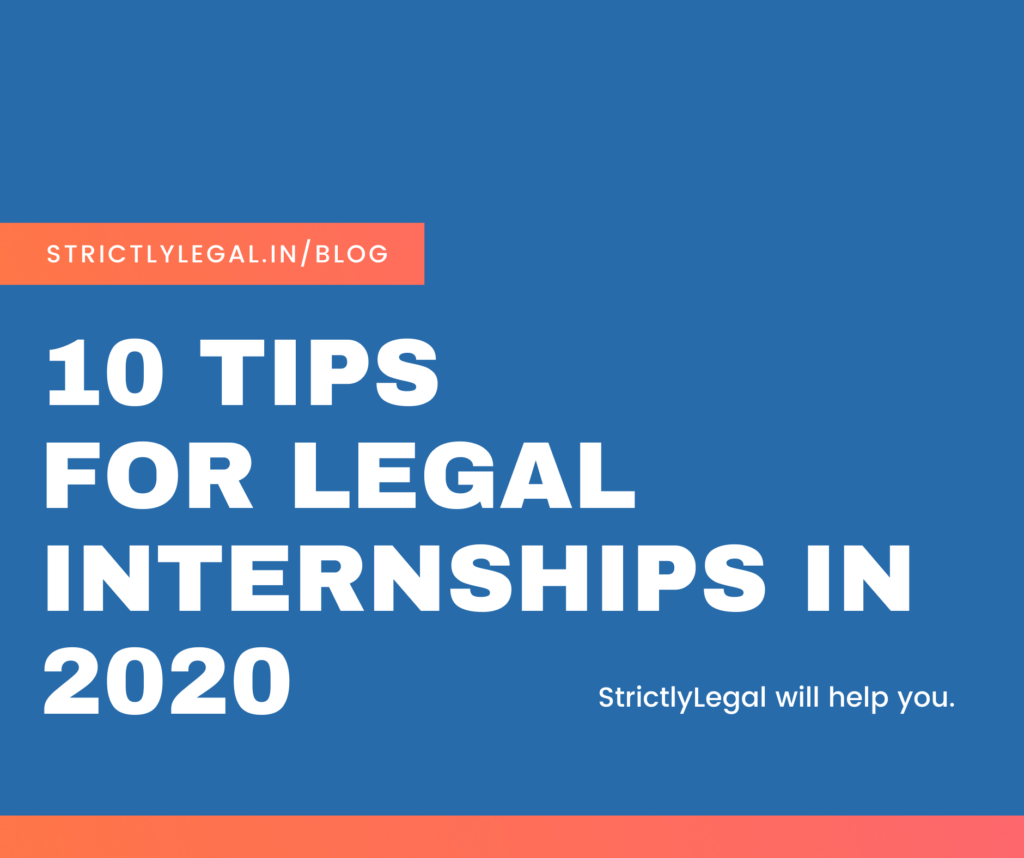 10 tips for legal internship in 2030