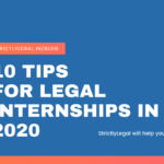10 Tips For Legal Internships in 2020