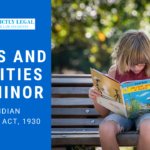Rights and Liabilities of a Minor in Partnership