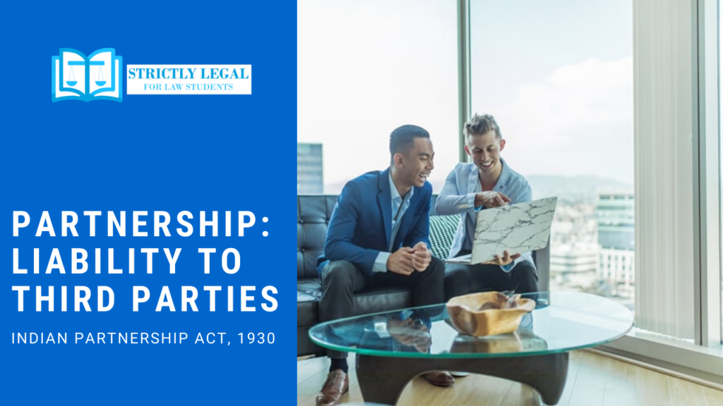 Partnership: Liability to third parties