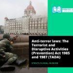 Anti-terror laws: TADA
