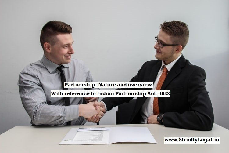 Indian Partnership act 1932 strictlylegal