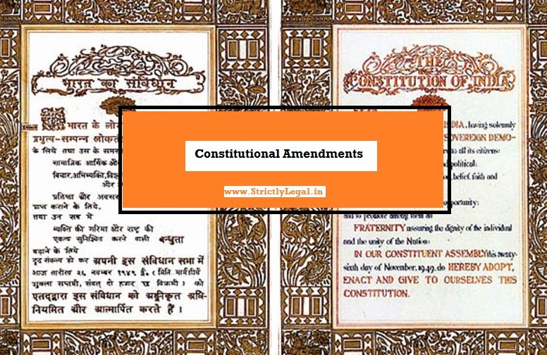 constitutional amendments