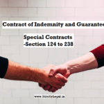 Contract of Indemnity and Guarantee