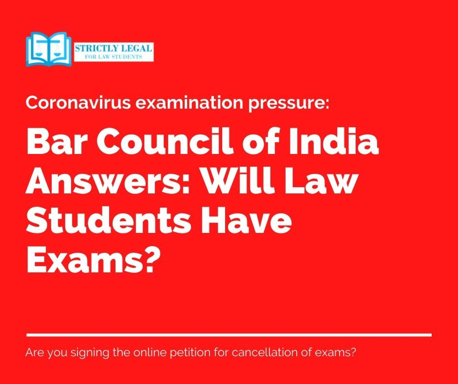 Bar Council of India Answers Will Law Students Have Exams