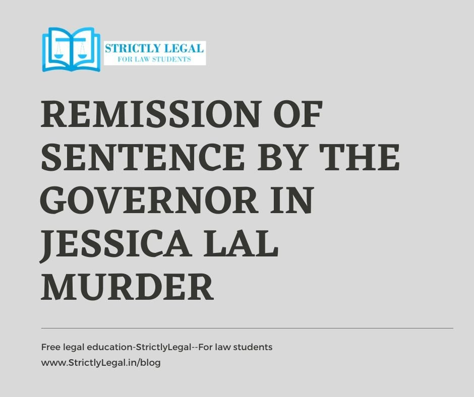 Remission of Sentence by the Governor