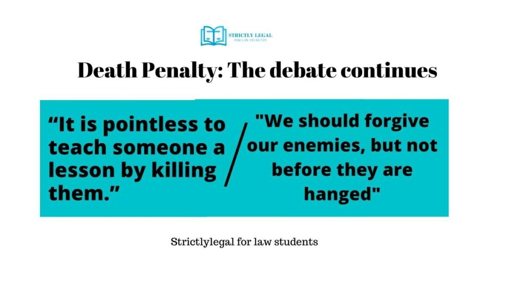 death penalty debate