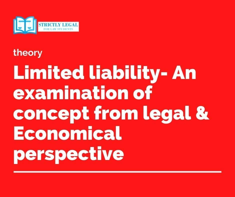 limited liability concept