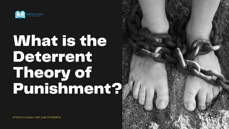 What is the Deterrent Theory of Punishment