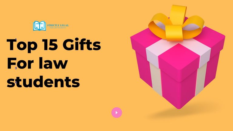 Top 15 Gifts For law students