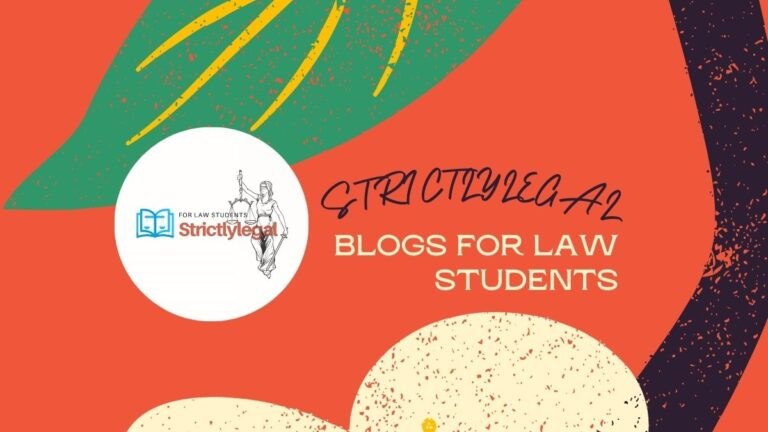 BLOGS FOR LAW STUDENTS