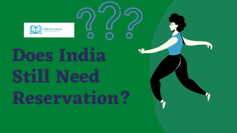 Does India Still Need Reservation?