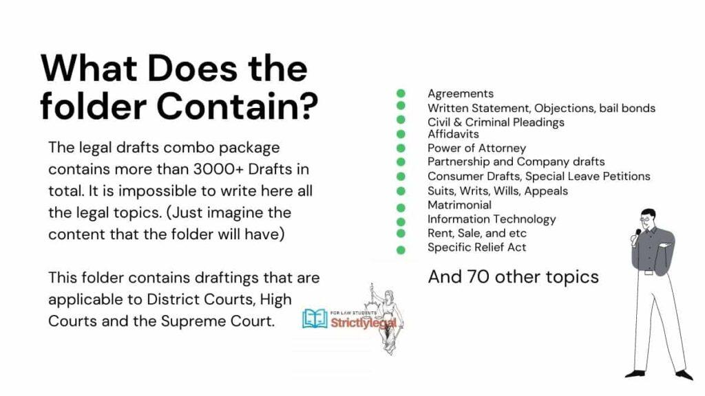 legal drafting folder download