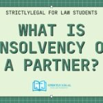 What is Insolvency of a Partner?